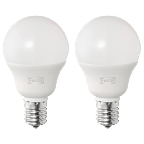 SOLHETTA ソールヘッタ LED電球 E17 440ルーメン, 球形 オパールホワイト