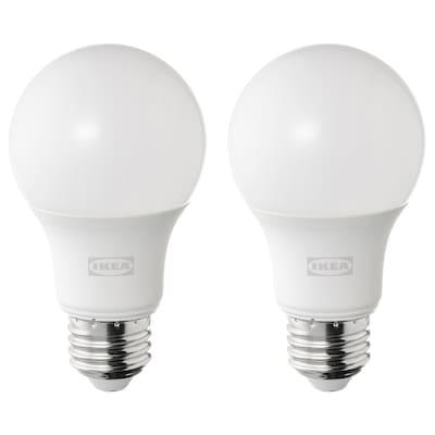 SOLHETTA ソールヘッタ LED電球 E26 485ルーメン, 球形 オパールホワイト