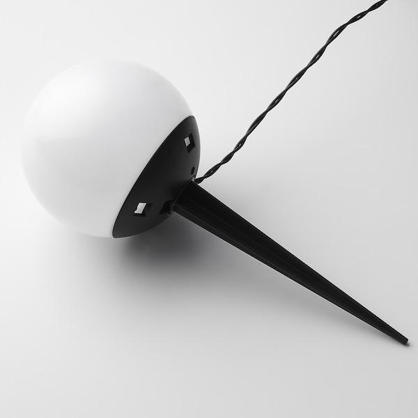 SOLVINDEN ソルヴィンデン LED太陽電池式グラウンドスティックライト, 屋外用/5本 ホワイト