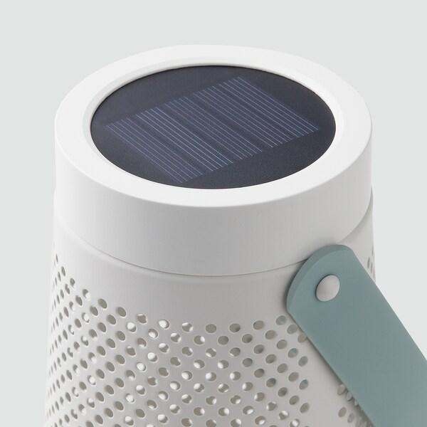 SOLVINDEN ソルヴィンデン LED太陽電池式テーブルランプ, 円錐形 ホワイト, 15 cm