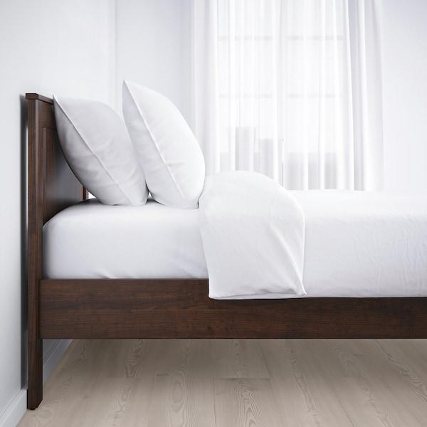 SONGESAND ソンゲサンド ベッドフレーム, ブラウン/ロンセット, 120x200 cm