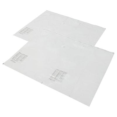 SPANTAD スパンタド 布団圧縮袋, ライトグレー, 100x130 cm 2 ピース
