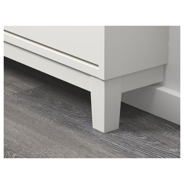 ステル 靴収納用キャビネット 3コンパートメント ホワイト 79 cm 29 cm 148 cm