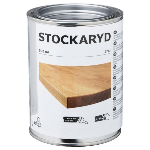 STOCKARYD ストッカリード 木製品用トリートメントオイル 屋内用, 500 ml