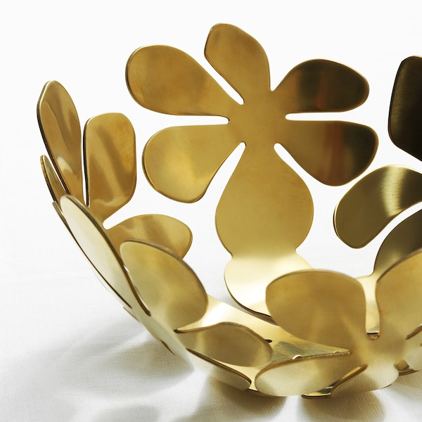 STOCKHOLM ストックホルム ボウル, ゴールドカラー, 20 cm