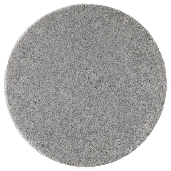 STOENSE ストエンセ ラグ パイル短, ミディアムグレー, 130 cm