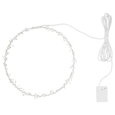 STRÅLA ストローラ LEDペンダントランプ, 電池式 リング状/点滅 マルチカラー