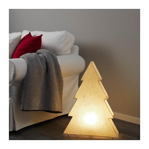 STRÅLA テーブルランプ IKEA 温かみのある落ち着いた心地よい明かり。お部屋にクリスマスの雰囲気を演出できます 柔らかい光のムードランプ