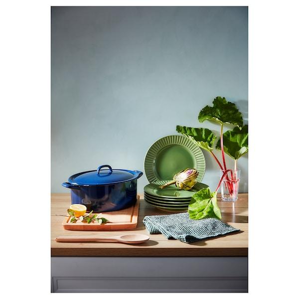 ストリミグ プレート せっ器/グリーン 27 cm