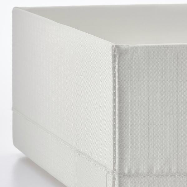 STUK ストゥーク ボックス 仕切り付き, ホワイト, 20x34x10 cm