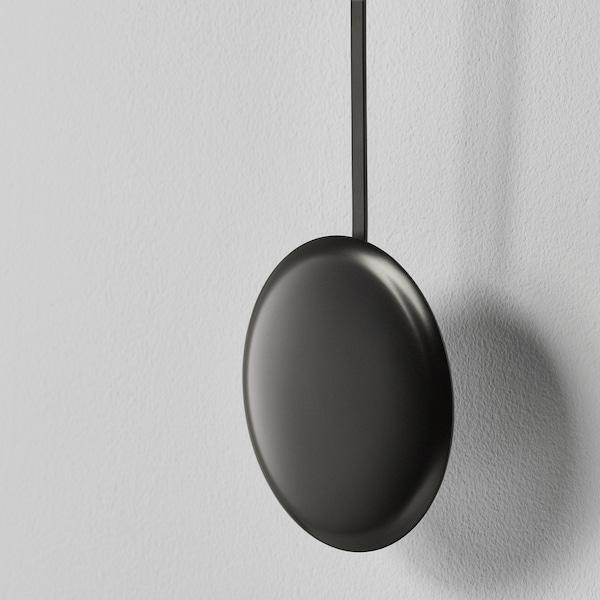 STURSK ストゥルスク ウォールクロック, ブラック, 26 cm