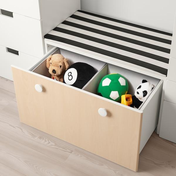 IKEA ストゥヴァ / フォーリャ 収納ベンチ