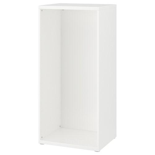 ストゥヴァ フレーム ホワイト 60 cm 50 cm 128 cm