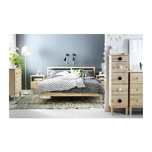 IKEAのおすすめベッドTARVA(タルヴァ)で北欧風の寝室作り