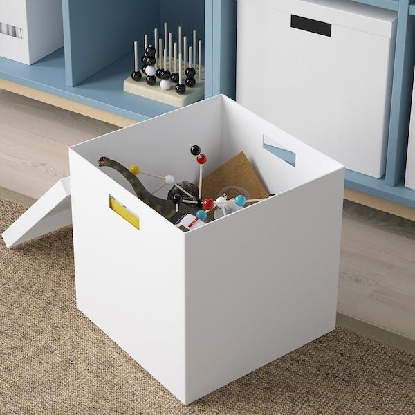 IKEA ティエナ 収納ボックス ふた付き