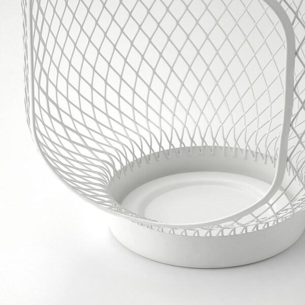 TOPPIG トッピグ ブロックキャンドル用ランタン, ホワイト, 22 cm
