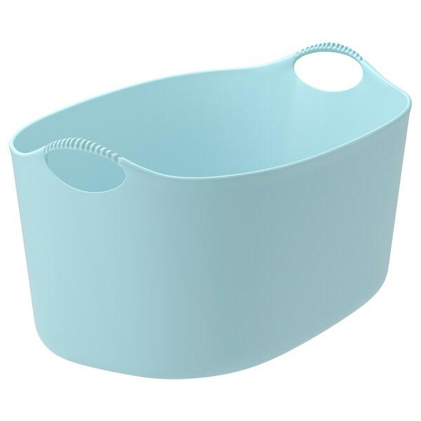 トルキス フレキシブルランドリーバスケット、室内/屋外用 ブルー 58 cm 38 cm 28 cm 15 kg 35 l