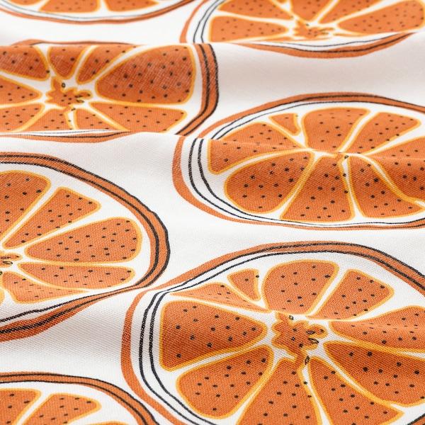 TORVFLY トルヴフリー キッチンクロス, 模様入り/オレンジ, 45x60 cm