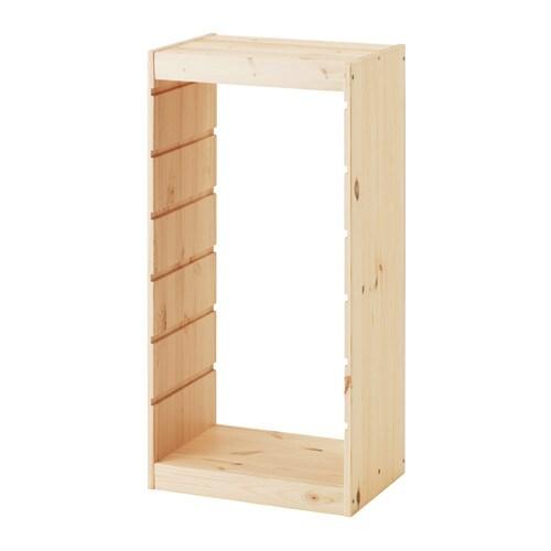 TROFAST フレーム IKEA 遊び心いっぱいの頑丈な収納シリーズ。おもちゃの収納と整理にぴったりです 幅広い品ぞろえのフレームやボックス、棚板を組み合わせて、自宅のスペースとお子さまのニーズにぴったりの収納ソリューションをつくれます