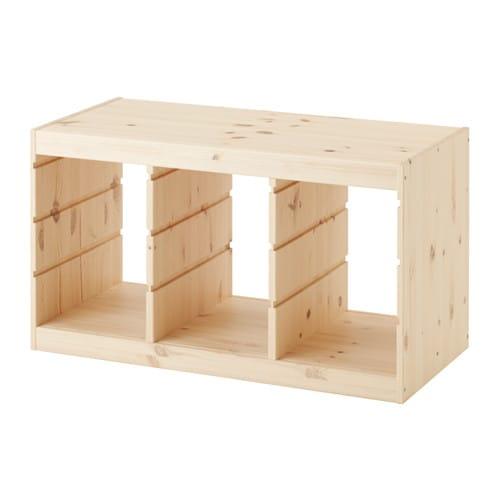 TROFAST フレーム IKEA 遊び心いっぱいの頑丈な収納シリーズ。おもちゃの収納と整理だけでなく、座ったり、遊んだり、くつろいだりできます 幅広い品ぞろえのフレームやボックス、棚板を組み合わせて、自宅のスペースとお子さまのニーズにぴったりの収納ソリューションをつくれます