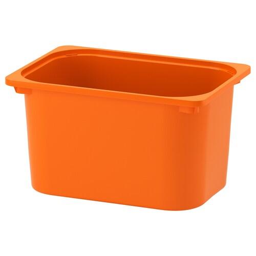トロファスト 収納ボックス オレンジ 42 cm 30 cm 23 cm