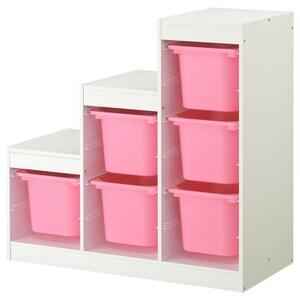 色: ホワイト/ピンク.