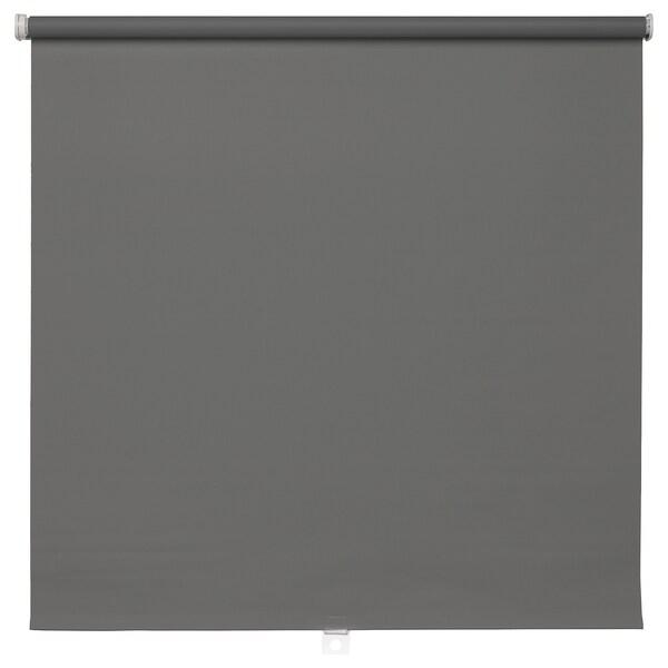 TUPPLUR トゥップルール 遮光ローラーブラインド, グレー, 120x195 cm