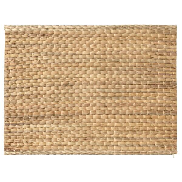 ウンデルラグ ランチョンマット ホテイアオイ/ナチュラル 35 cm 45 cm