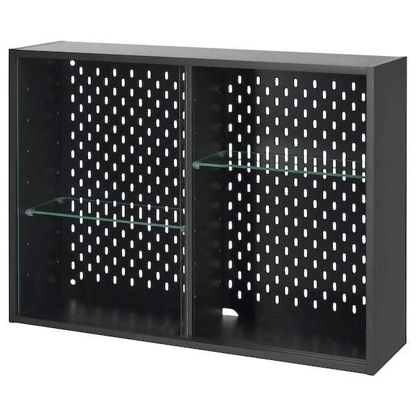 UPPSPEL ウップスペル コレクションケース, ダークグレー, 76x56 cm