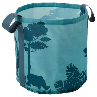 URSKOG ウルスコグ 収納バッグ, 木立/ターコイズ