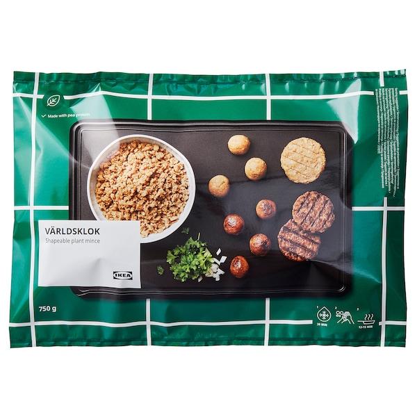 VÄRLDSKLOK ヴェルドスクロック プラントベースひき肉, 成形可 冷凍, 750 g