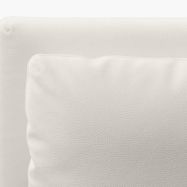 ヴァレントゥナ 2人掛けモジュールソファ, 収納付き/ムールム ホワイト