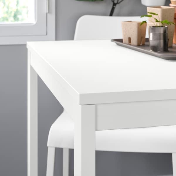 VANGSTA ヴァングスタ / TEODORES テオドレス テーブル&チェア4脚, ホワイト/ホワイト, 120/180 cm