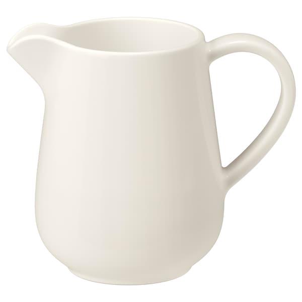 ヴァルダーゲン ミルク/クリーム ピッチャー オフホワイト 12 cm 39 cl