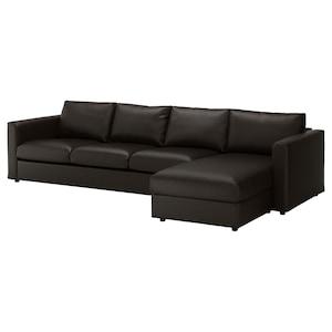 カバー: 寝椅子付き/ファールスタ ブラック.
