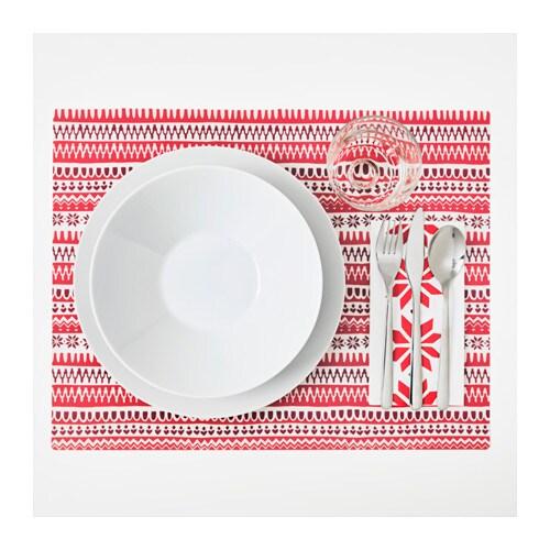 VINTER 2017 ランチョンマット IKEA テーブルを傷や汚れから守り、食器やカトラリーを置くときの音を和らげます
