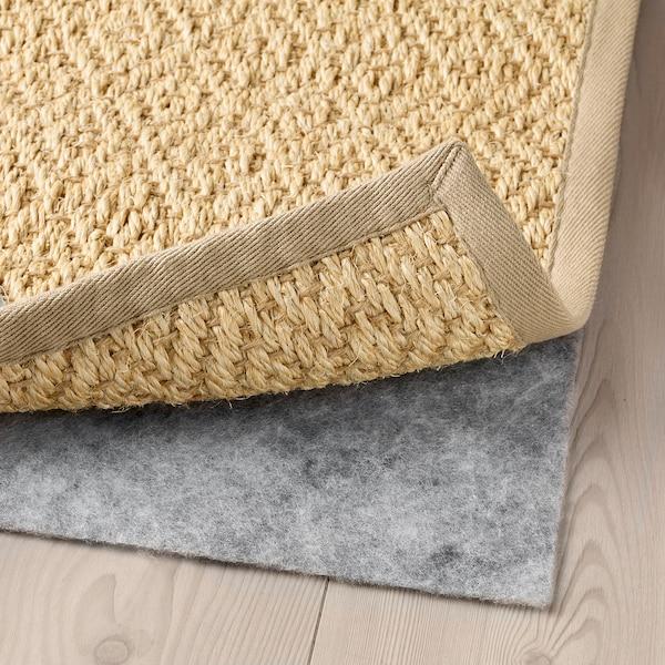 VISTOFT ヴィストフト ラグ 平織り, ナチュラル, 200x300 cm