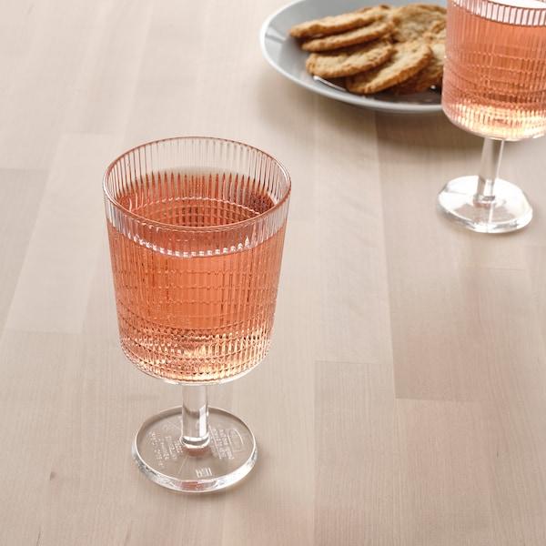 KALLSINNIG ワイングラス, 透明 プラスチック, 32 cl