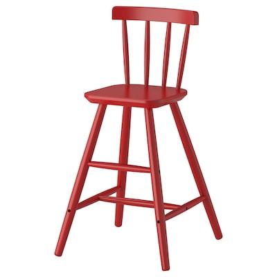 AGAM Junior chair, red