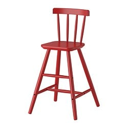 AGAM junior chair, red