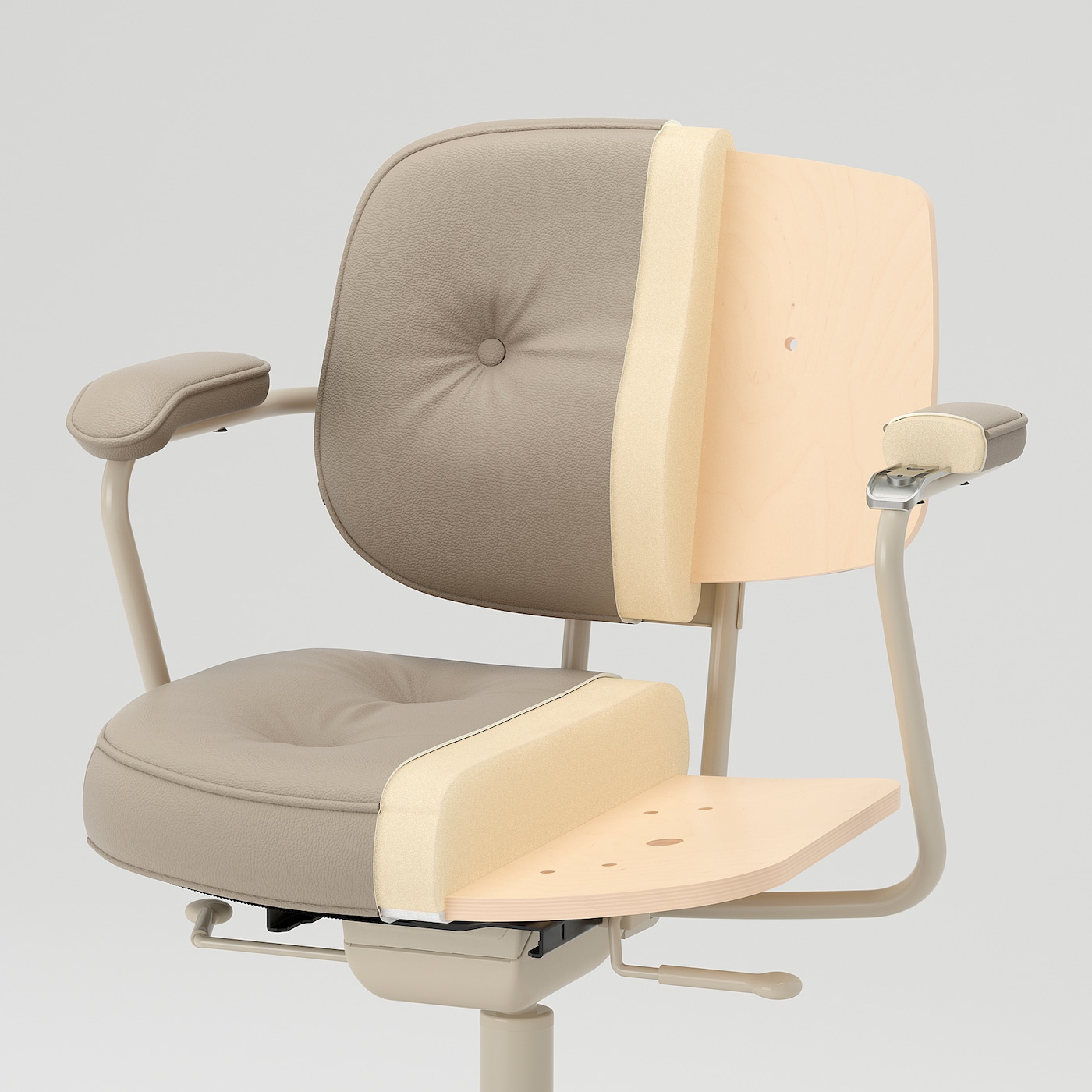 Picture of: Alefjall Office Chair Grann Beige Ikea