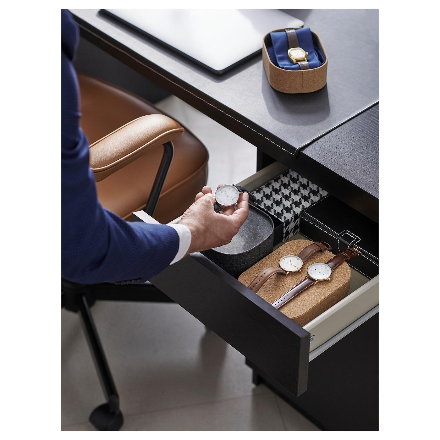 ALEFJÄLL Office chair Grann golden brown