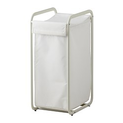 ALGOT storage bag with stand, white