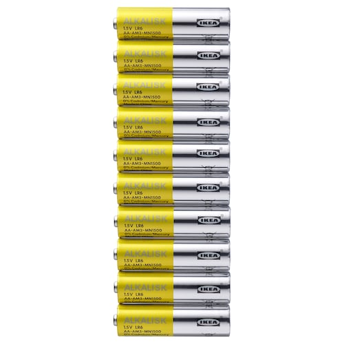 ALKALISK battery alkaline 10 pieces