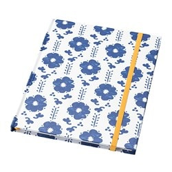 ANILINARE note-book, white, blue