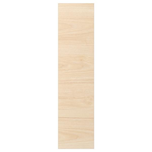 ASKERSUND Door, light ash effect, 20x80 cm