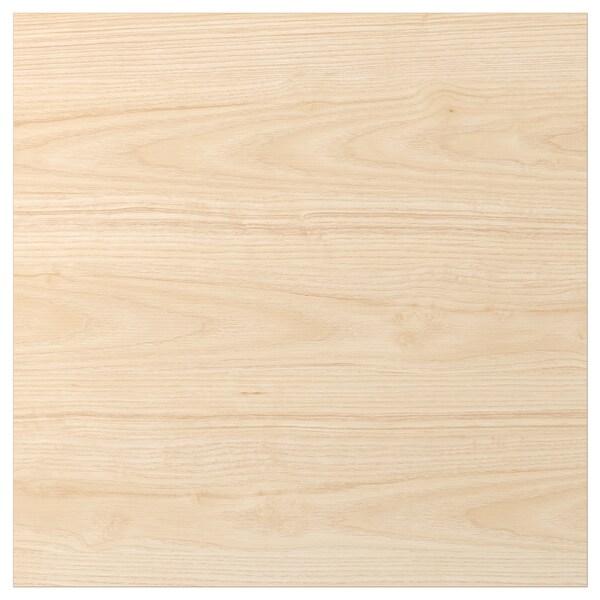 ASKERSUND Door, light ash effect, 60x60 cm
