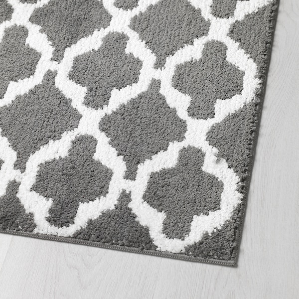 Auning Kitchen Mat Dark Grey Ikea