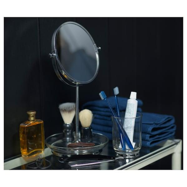 BALUNGEN Mirror, chrome-plated, 21x36 cm