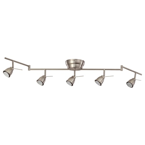 IKEA BAROMETER Ceiling track, 5-spots